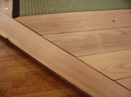 畳コーナー枠と置き床02