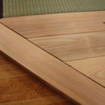 畳コーナー枠及び置き床